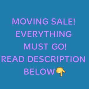 Other - New Price Drops! EVERYTHING MUST GO!